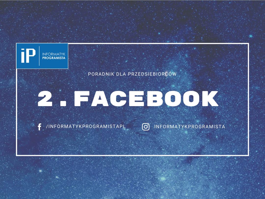 Facebook - Poradnik dla przedsiebiorców